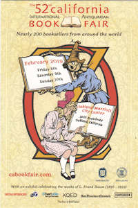 52nd California International Antiquarian Book Fair