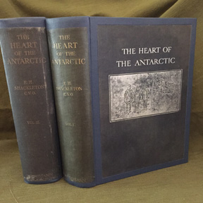 The Heart of the Antarctic; Being the Story of the British Antarctic Expedition 1907-1909. Ernest Shackleton, C. V. O.