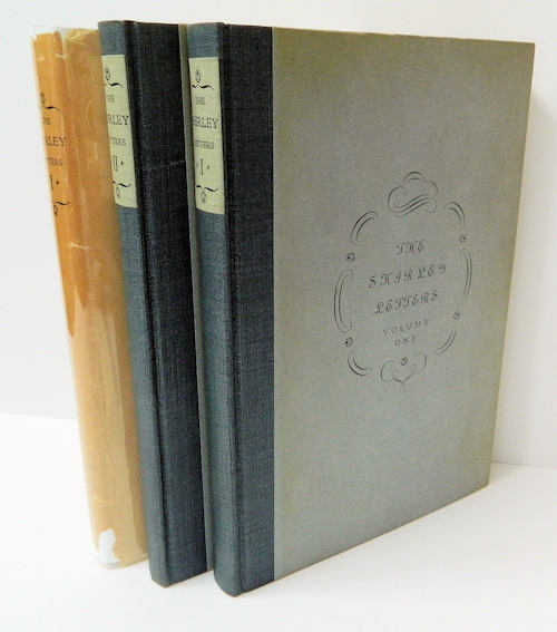 California in 1851 - 1852 The Letters of Dame Shirley; [The Shirley Letters in two volumes] Introduction and notes by Carl I. Wheat. Louise Clappe, Dame Shirley.