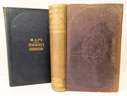 Exploration and Survey of the Valley of the Great Salt Lake of Utah, including a Reconnaissance of a New Route through the Rocky Mountains; [32nd Congress, Special Session, March 1851, Senate Ex. Doc. #3, Serial 608]. Howard Stansbury.