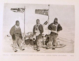 The Home of the Blizzard; Being the story of the Australasian Antarctic Expedition, 1911-1914 [Illustrated in colour and black and white also with maps]