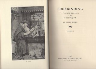 Bookbinding; Its Background and Technique [In Two Volumes with slipcase