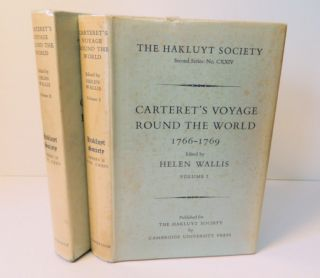 Carteret's Voyage Round the World 1766-1769; [Hakluyt Society Second Series II No. CXXIV (124)...