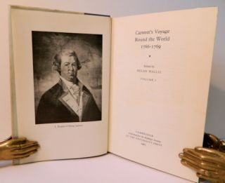 Carteret's Voyage Round the World 1766-1769; [Hakluyt Society Second Series II No. CXXIV (124) and CXXV (125)] [From the Steve Fossett Collection]