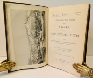 Exploration and Survey of the Valley of the Great Salt Lake of Utah, including a Reconnaissance of a New Route through the Rocky Mountains; [32nd Congress, Special Session, March 1851, Senate Ex. Doc. #3, Serial 608]