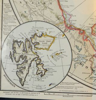 The North Pole; Its Discovery under the Auspices of the Peary Arctic Club [Includes laid in original photograph of Peary not published in this edition]